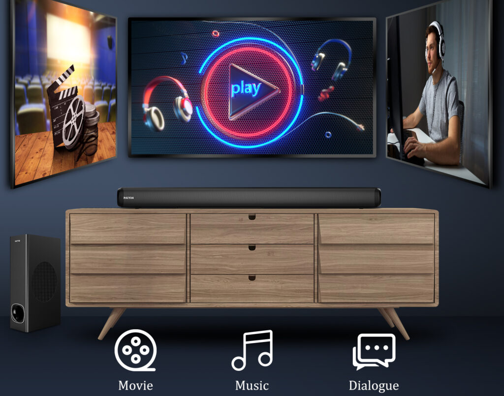 Change your mood with amazing music woofers at home and bar